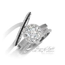 engagement ring enhancers flower of light with engagement ring enhancers
