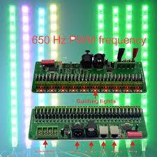 30 channel 27channel easy rgb led controller dmx decoder