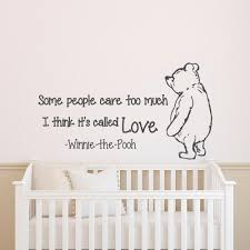 20 inspirations winnie the pooh nursery quotes wall art wall art wall decals quotes winnie the pooh wall decal quote some pertaining to winnie the pooh nursery