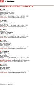 schenker joyau montaigu si e social adresses schenker schenker offices pdf
