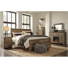 ashley bedroom b446 57 ashley furniture trinell brown bedroom queen panel bed