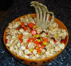 popcorn for halloween microwave halloween snack mix quick cooking