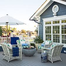 10 ways create a beach inspired porch