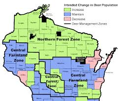 Map Of Northern Wisconsin by 2016 Wisconsin Deer Harvest Summary Now Available Free Apg Wi Com