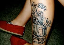 25 splashy bird cage tattoo ideas creativefan