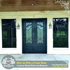 Exterior Doors Houston Tx Houston Front Doors Iron Front Doors Houston Tx Hfer