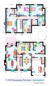 floor plans of your favorite tv shows u2013 fubiz media