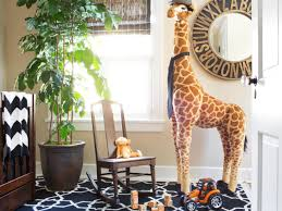 good looking image of safari baby nursery room decoration using
