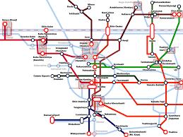 Subway Train Map by How To Transfer Among Kyoto Osaka Kobe Nara And Wakayama