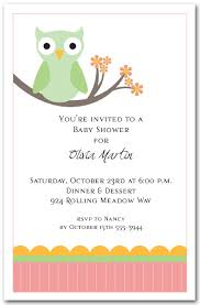 green owl invitations owl baby shower invitations