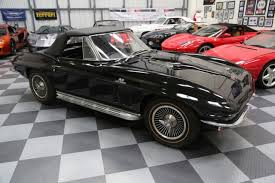 1966 corvette specs 1966 corvette big block convertible 427 425 black for sale