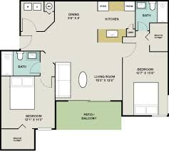 how big is 1000 square feet fisherman s landing apartment homes ta florida