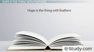 Example Of An Objective In A Resume by Emily Dickinson U0027s Hope Is The Thing With Feathers Summary