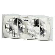 target fans and air conditioners holmes twin window fan at target this twin window fan with reverse