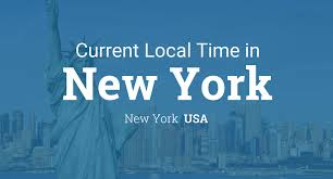 Time Zone Map World Clock by Current Local Time In New York New York Usa