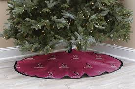 christmas tree shop ls amazon com nfl arizona cardninals christmas tree skirt sports