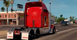 kenworth trailers kenworth t800 v 1 2 truck euro truck simulator 2 mods