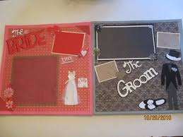 wedding scrapbook pages new 2 12x12 completed scrapbook page groom scrapbook page