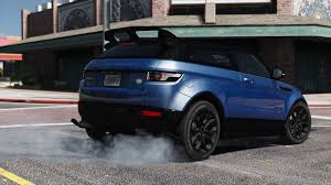 range rover land rover 2016 range rover evoque add on replace tuning template gta5