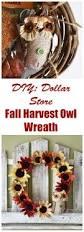 thanksgiving wreaths diy dollar store diy fall harvest owl wreath savvy saving couple
