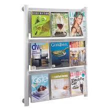 decoration brochure holder display stand rotating brochure