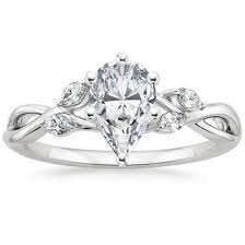 pear engagement ring pear shaped diamond engagement rings brilliant earth