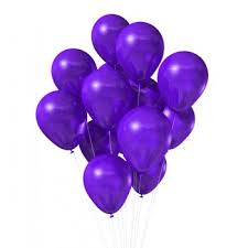 the party supplies purple metallic party balloons the party cupboard online