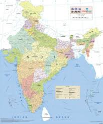 Physical Map Of India by Buy India Wall Map Synthetic 70 X 83 Cm Book Online At Low