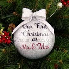 our ornament married just married ornament