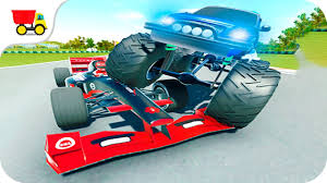 monster truck car racing games car racing games monster truck vs formula race gameplay