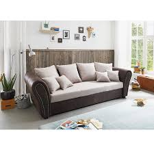 big sofa roller roller big sofa beige braun mit liegefunktion de