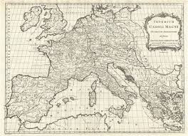 map of vi imperium caroli magni occidentis imperatoris ad finem saeculi post