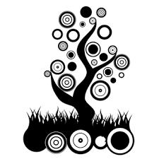 imagenes abstractas con circulos vector gratis de árbol abstracto de círculos