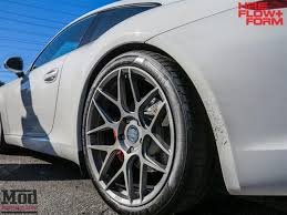 porsche silver powder coat 991 porsche 911 carrera s on hre ff01 wheels modbargains la