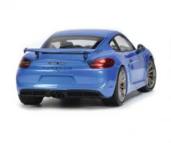 porsche cayman blue porsche cayman gt4 blue metallic 1 18 edition 1 18 car