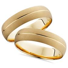 wedding rings his and hers matching his hers 14k white gold wedding bands