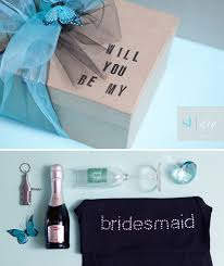 ideas for asking bridesmaids to be in your wedding the original diy will you be my bridesmaid box