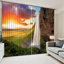 online get cheap living room waterfall curtains aliexpress com