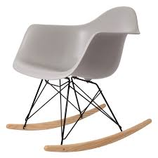 Eames Inspired Rocking Chair Charles Eames Rocking Chair Rar Black Base Rocking Chair Design