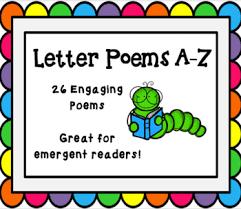 letter poems a z bundle by miss turner u0027s title i shop tpt