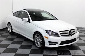 2013 mercedes coupe 2013 used mercedes certified c250 amg sport coupe navigation