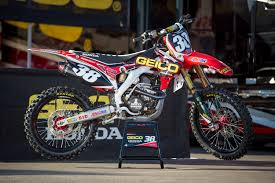 motocross bikes honda factory honda the machines transworld motocross