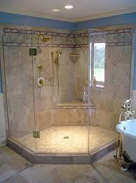 23 Shower Door Inline Frameless Shower Enclosure Frameless Steam Shower Va