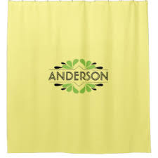 black and lime green shower curtains zazzle