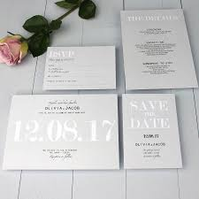 wedding stationery modern traditional wedding invitation by beija flor studio