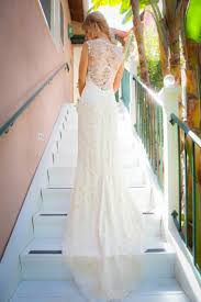 backless dresses lace backless wedding gown 1927262 weddbook