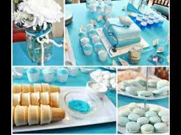 Centerpieces For Boy Baptism by Diy Christening Party Decorating Ideas Youtube