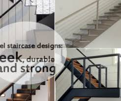 Steel Banister Rails Modern Handrail Designs That Make The Staircase Stand Out
