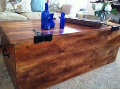 Shipping Crate Coffee Table - shipping crate coffee table storage box by goodrich rubbers