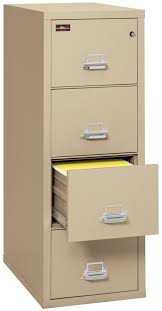 File Cabinet 4 Drawer Vertical 2 hour rated file cabinets